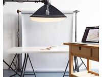 Photography studio share and desk space - Clapton, Hackney, photographer creative workspace office