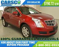 2010 Cadillac SRX LUX COLLECTION, AWD, LEATHER, REMOTE START