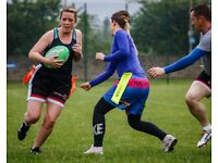 Mixed Adult Tag Rugby - A Fun, Social Way to Keep Fit!