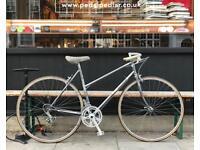 49cm MBK Trainer Vintage Lightweight Ladies Bicycle - 19 Inch Womens Step-Through French Bike Mixte