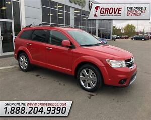 2013 Dodge Journey R/T w/ Heated Leather Seats, AWD, DVD Player,