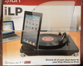 iLP for recording your LPs to iPod, iPhone, iPad