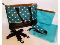 New Changing Bag - Teal