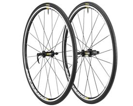 Brand New in box MAVIC ELITE AKSIUM WTS 700c bike wheels with tyres 7 8 9 10 11 speed shimano