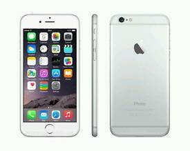 Iphone 6 silver 64gb unlocked