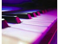 Amateur keyboard player