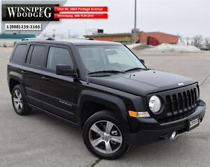 2016 Jeep Patriot High Altitude 4x4 w/Sunroof & Leather