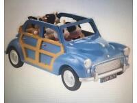 Blue Sylvanian Families Car