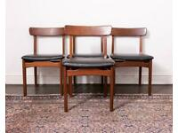 Four Mid-Century dining chairs by John Herbert for A. Younger