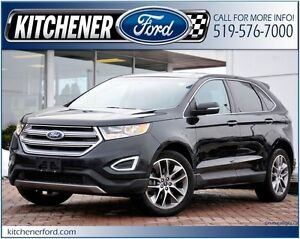 2015 Ford Edge Titanium /LEATHER/CAMERA/NAVI/PANO ROOF/HTD SE...