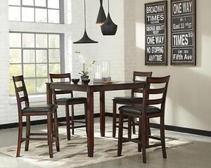 Ashley Furniture BLOWOUT 5 Piece Dining Set Coviar D385 While Supplies Last