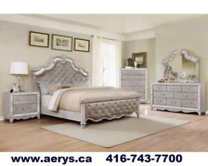 WAREHOUSE SALE!! FAUX LEATHER BED ON HUGE SALE FOR JUST $129!! CALL 4167437700