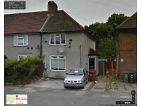 BEAUTIFUL 3 BEDROOM SEMI DETACHED HOUSE READY TO MOVE IN DAGENHAM, LODGE AVE, (RM8) PART/DSS WELCOM