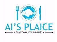 Front of House Staff needed for award winning Fish and Chip Shop