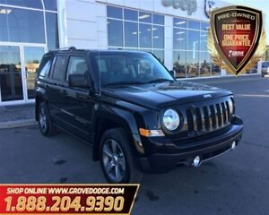 2017 Jeep Patriot High Altitude| 4X4| Leather| LOW KM| Sunroof