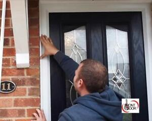 PROFESSIONAL DOOR INSTALLATION -- SAVE MONEY -- INSTALLERS PRICES -- Free Consultation -- Cell:  6 4 7 - 8 4 7 - 1 8 5 2