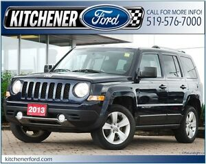 2013 Jeep Patriot Limited 4WD/LEATHER/HTD SEATS/PWR LOCKS&WIN...