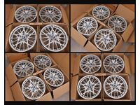 """HT320* NEW 18"""" INCH ALLOY WHEELS ALLOYS BMW 666M COMPETITION STYLE 1 3 SERIES M SPORT PERFORMANCE"""