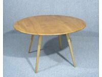 Ercol Windsor Golden Dawn Drop Leaf Dining Table