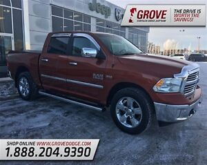 2013 Ram 1500 SLT w/ Cloth Seats, Touch Screen, 4X4, Edmonton Edmonton Area image 1