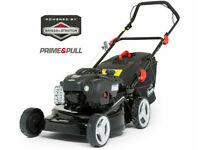 Florabest FBM 450 B2 Powerful Petrol Lawnmower 55l - Boxed New