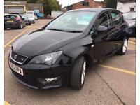 SEAT IBIZA 1.2 TSI FR DSG 5d AUTO 104 BHP (black) 2012