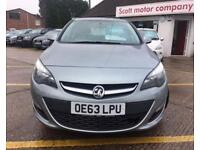 VAUXHALL ASTRA 1.4 ENERGY 5d 98 BHP (silver) 2014