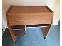 Wooden Desk - Wood Bureau Office Study Furniture Dressing Table