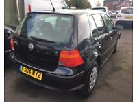 VOLKSWAGEN GOLF 1.6 1d (black) 2004