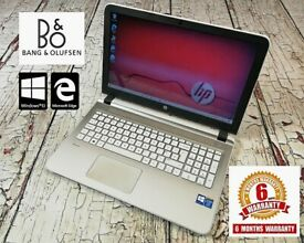 HP 15-ab048sa laptop + 6 MONTHS WARRANTY