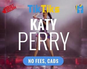 Katy Perry Tickets Billets Live at Bell Centre le 19 septembre! NO FEES, CAD$, 5 Star Canadian Company!