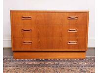 G Plan Mid-Century chest of drawers DELIVERY AVAILABLE