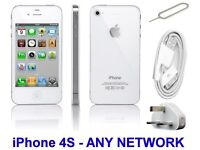 iPhone 4S - 16GB - White - Unlocked - Any Network - Fixed Price