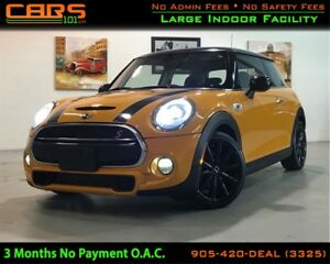 2014 MINI Cooper Cooper S| Bluetooth| Pano Sunroof|