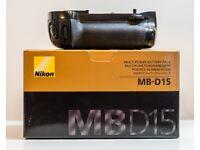 Genuine Nikon MB-D15 Battery Grip for D7100, D7200