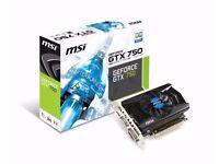 MSI GTX 750 OC 1gb
