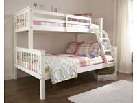 🔔Imported furniture🔔Kids Bed New Trio Wooden Bunk Bed In Multi Colors With Optional Mattress-📞
