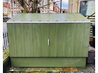 Trimetals Bike Storage / Cycle Shed for 3 Bicycles