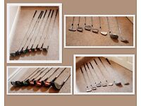 A SELECTION OF VARIOUS GOLF CLUBS - IDEAL FOR BEGINNERS! £10
