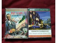2 x PAUL TEMPLE SERIES BBC AUDIO CRIME CASSETTES