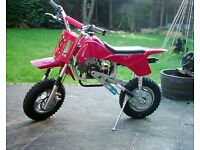 50cc YZF Mini Dirt Bike - Great Condition