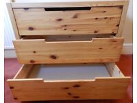 Wide chest of drawers - Ikea - child's bedroom