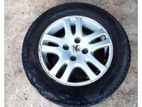 2 peugeot 307 alloy wheels