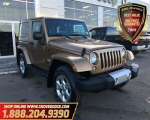 2015 Jeep Wrangler Sahara| Cloth| 4X4| Low KM| Remote Start
