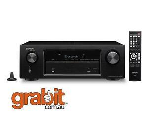Denon AVR-X520BT - 5.1CH AV Receiver Bluetooth Streaming Audio HDCP 2.2- USB