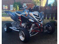 Yamaha raptor 700r swap cbr 600rr R6 swaps