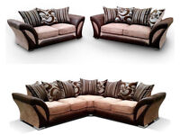 Brand New Comfortable and Stylish Shannon Sofa Set Available in corner, 2 seater, 3 seater Sofa Set