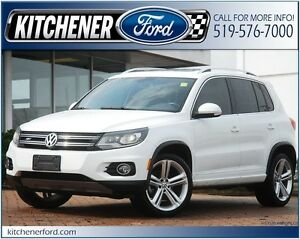 2015 Volkswagen Tiguan LEATHER/PANO ROOF/NAVI/ONLY 18K KM'S!