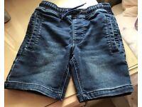 Next boys denim shorts