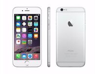 Apple iPhone 6 128G, Silver/White, Unlocked